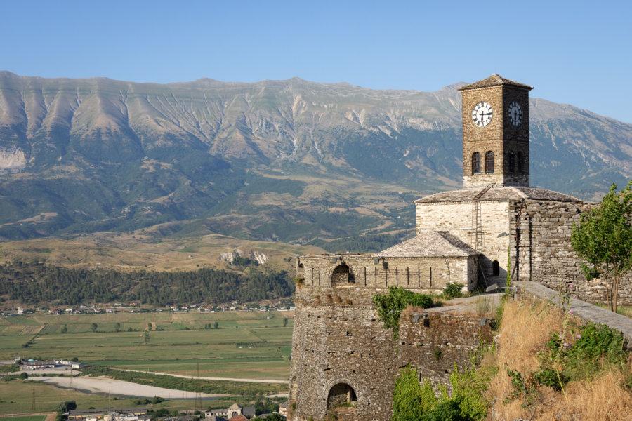 Horloge du château de Gjirokaster