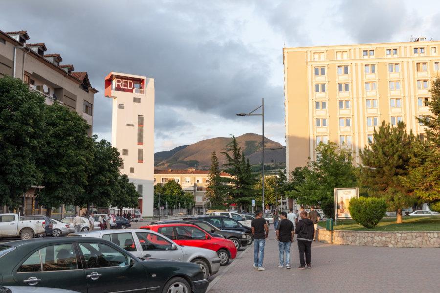 Korça en Albanie, ville nouvelle