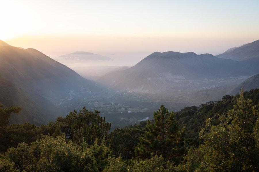 Caesar's pass à Llogara en Albanie