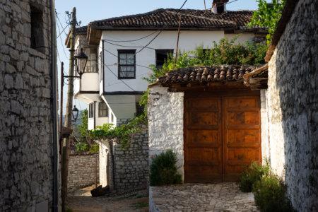 Maison ottomane à Berat, Albanie