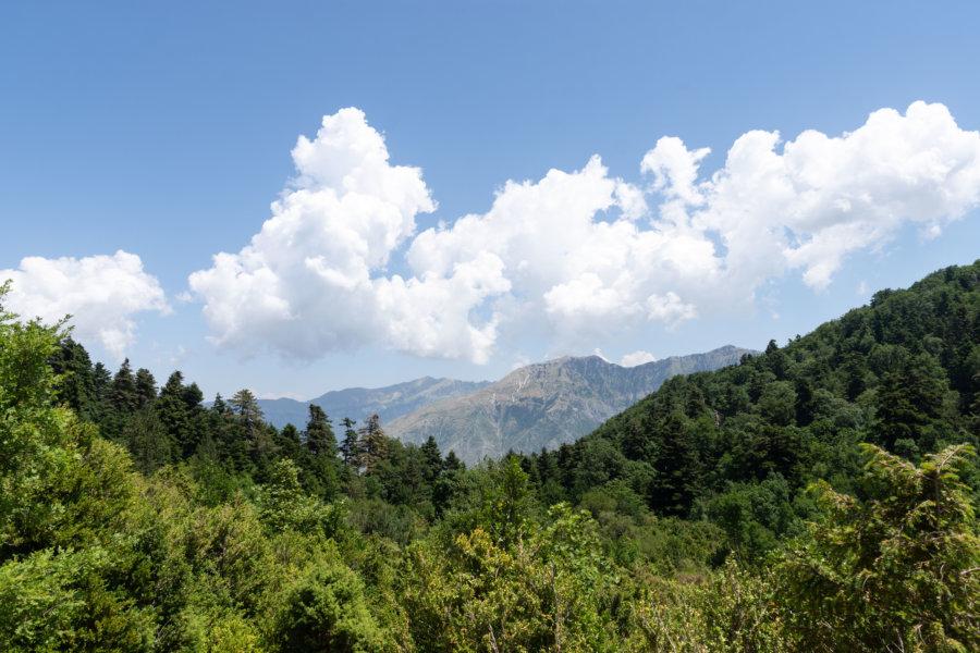 Randonnée dans le parc national de Llogara