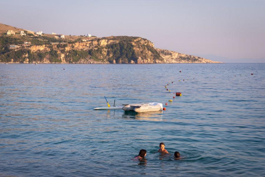 Vacances sur la côte albanaise
