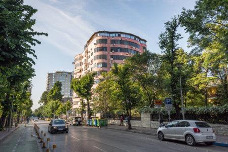 Quartier Blloku à Tirana en Albanie