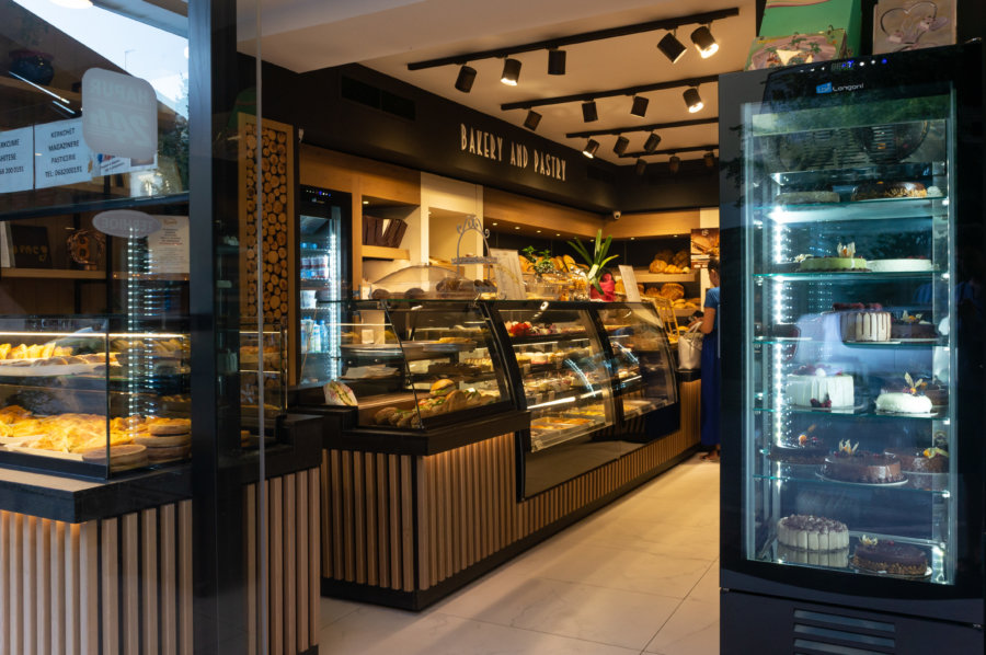 Boulangerie en Albanie