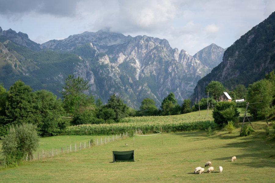 Calme dans la montagne à Theth