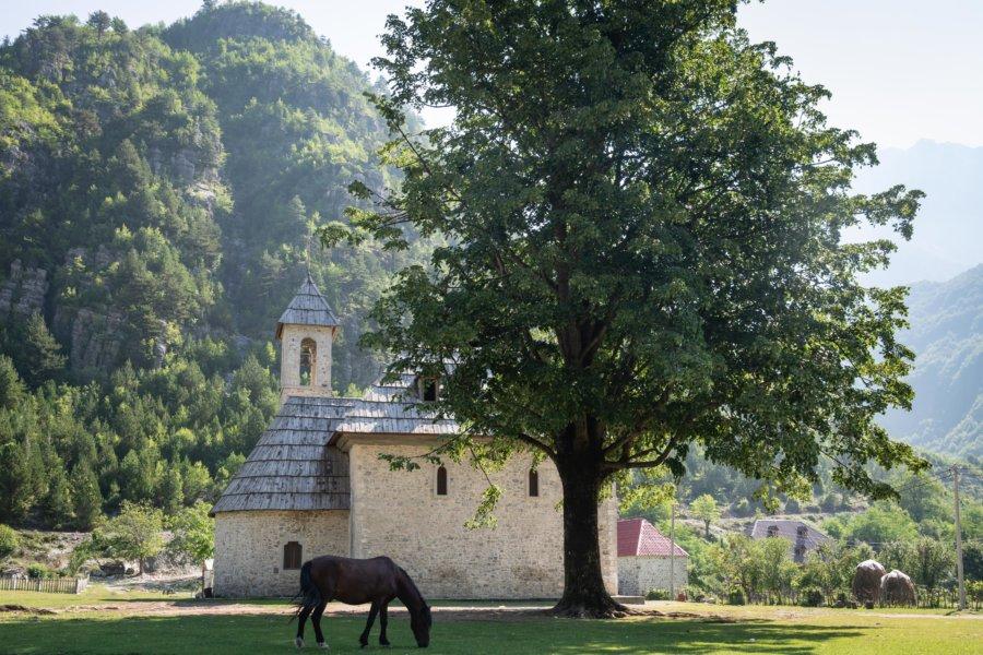 Église de Theth en Albanie