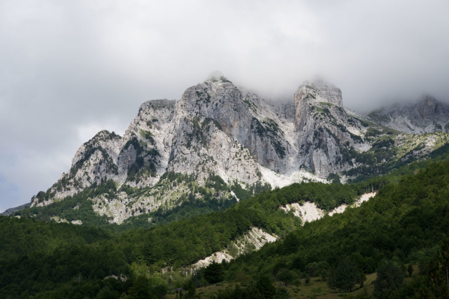 Montagne Maja e Thate à Valbona