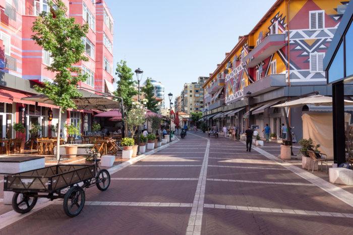 Pazari i Ri, marché central de Tirana