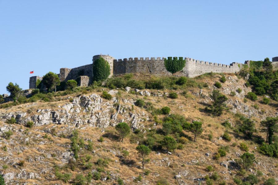 Château de Shkodër en Albanie