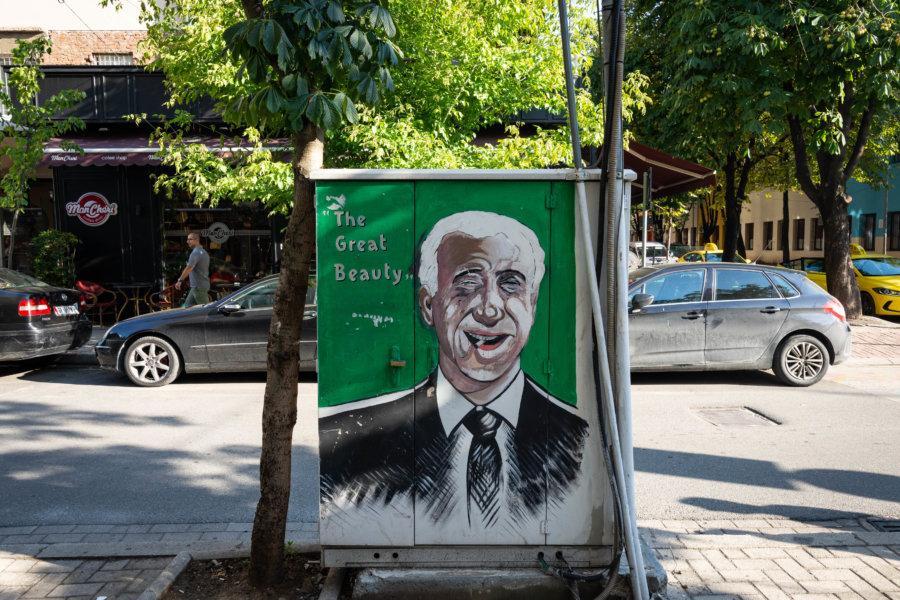 Street art à Blloku, Tirana