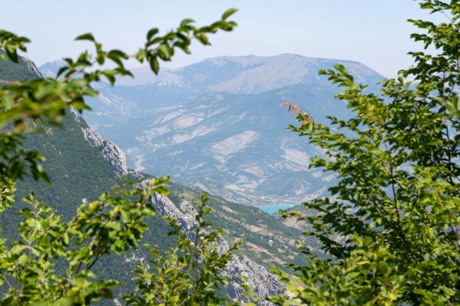 Montagne Dajti à Tirana