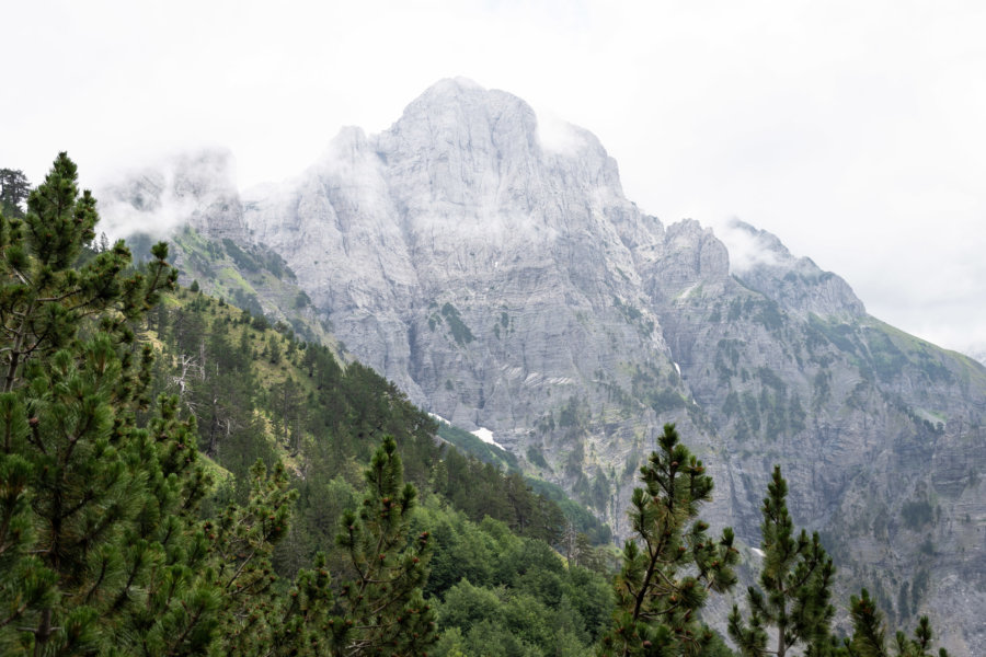 Alpes albanaises à Theth et Valbone