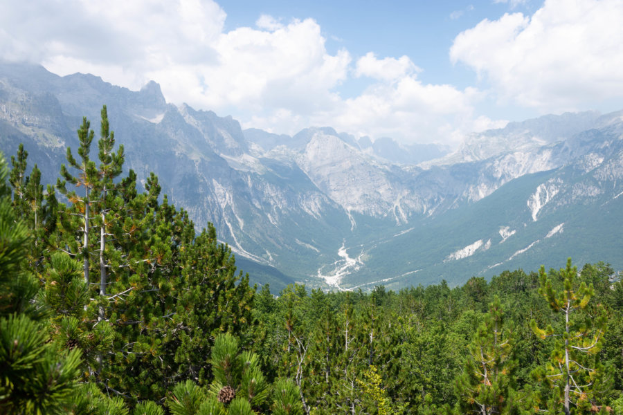 Parc national de Theth en Albanie
