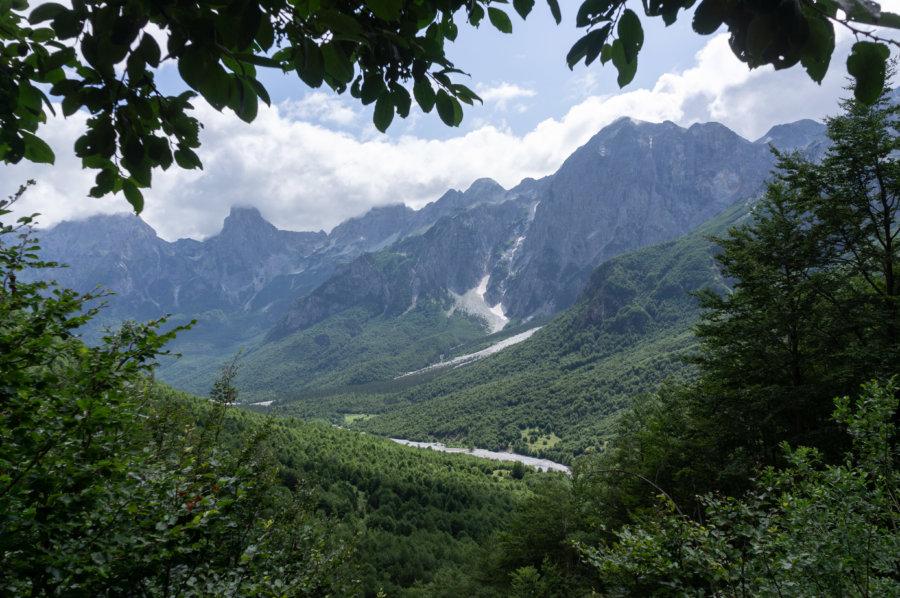 Vallée de Valbona en Albanie