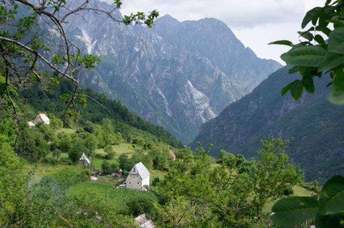 Village de Theth en Albanie