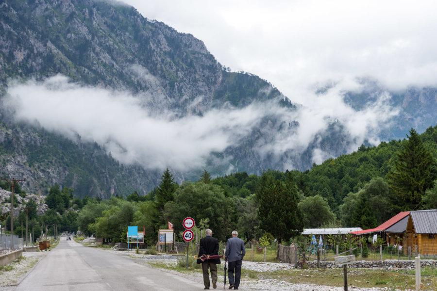 Village de Valbona en Albanie