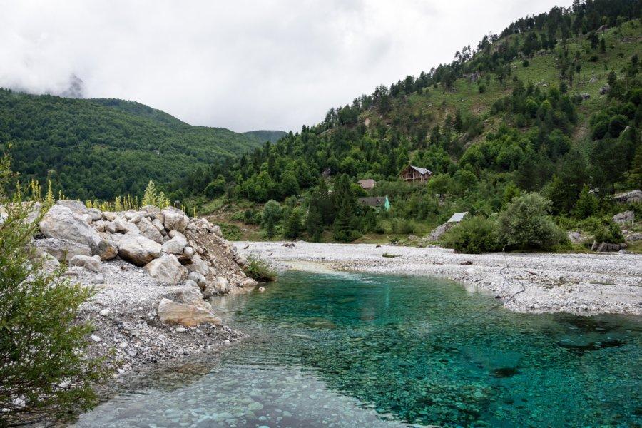 Village de Valbonë en Albanie