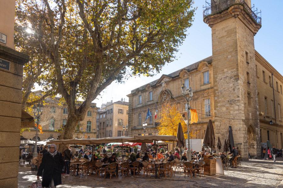 Aix-en-Provence à l'automne