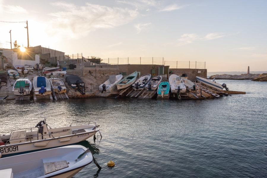 Anse de Malmousque à Marseille