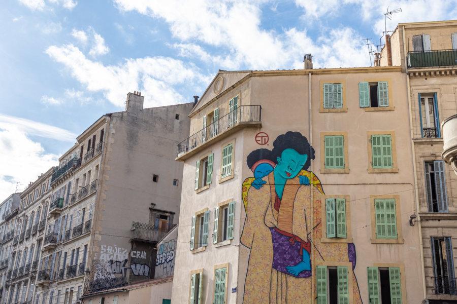 Art de rue à La Plaine, Marseille