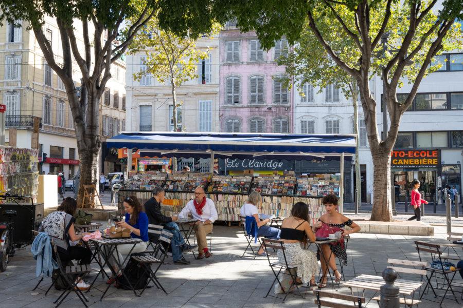La Canebière à Marseille