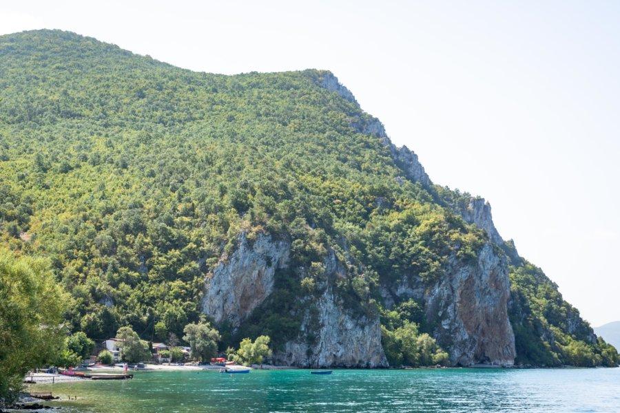 Collines et lac d'Ohrid, Macédoine du Nord