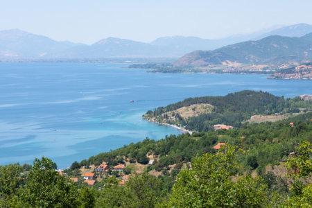Côte du lac d'Ohrid