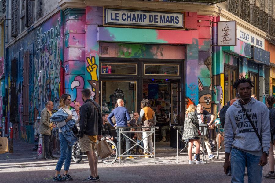 Cours Julien à Marseille