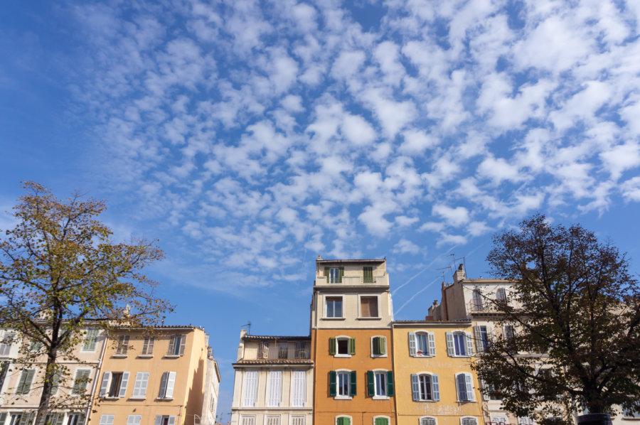Façades à La Plaine, Marseille
