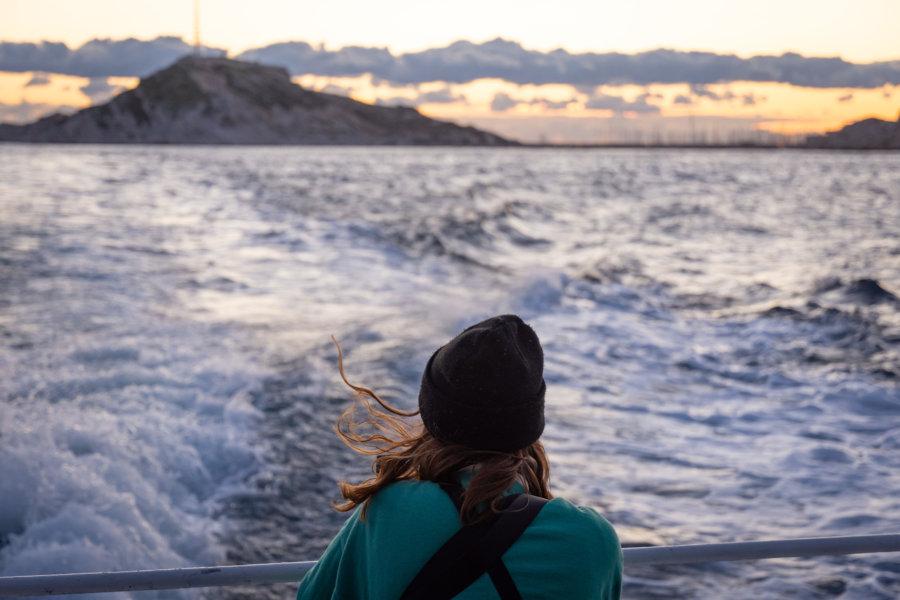 Ferry entre Marseille et les îles du Frioul