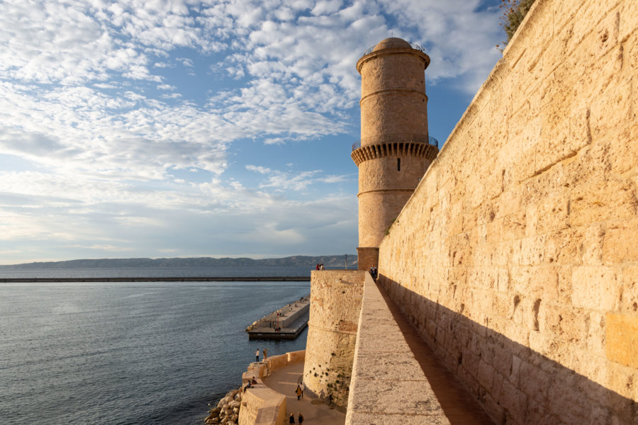 Fort Saint-Jean à Marseille