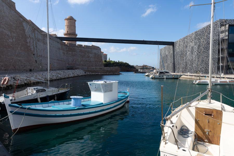 Fort Saint-Jean et Mucem