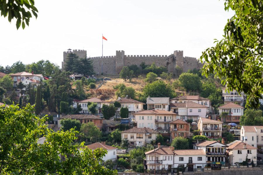Forteresse d'Ohrid en Macédoine du Nord
