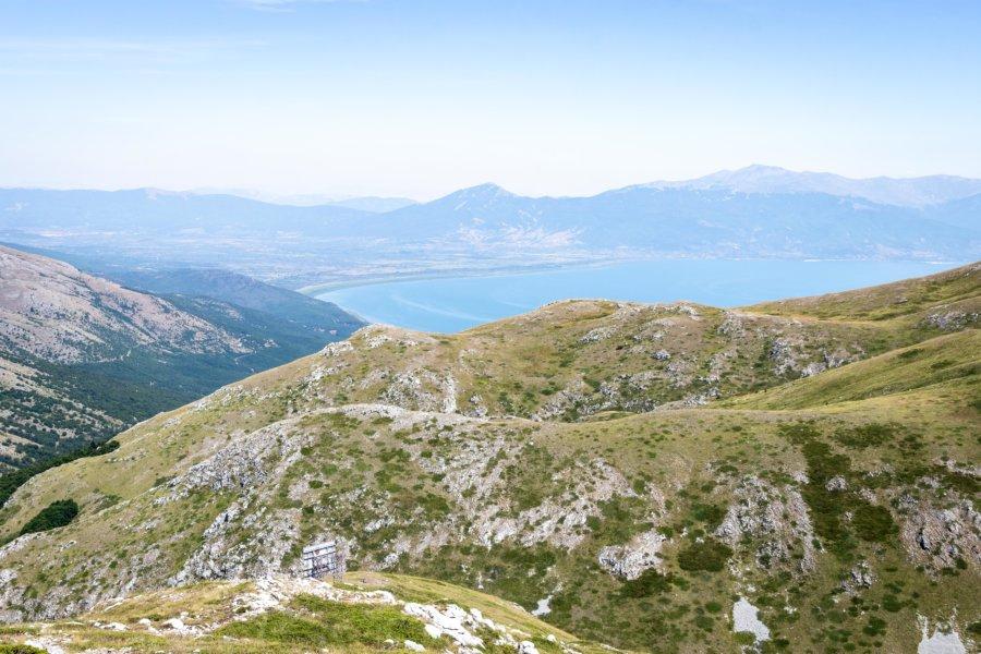 Lac Prespa, montagne de Galitchitsa