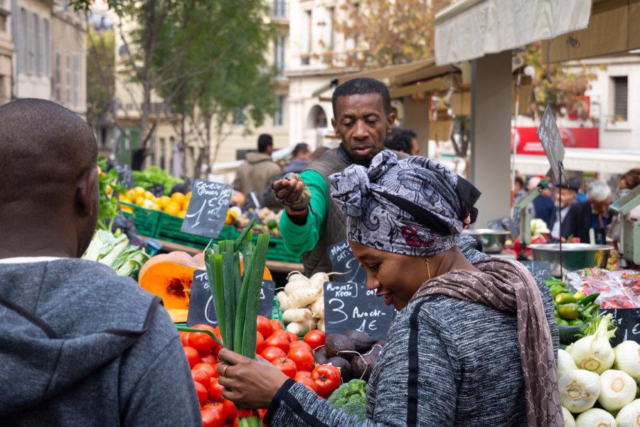 Marché des capucins à Noailles, Marseille