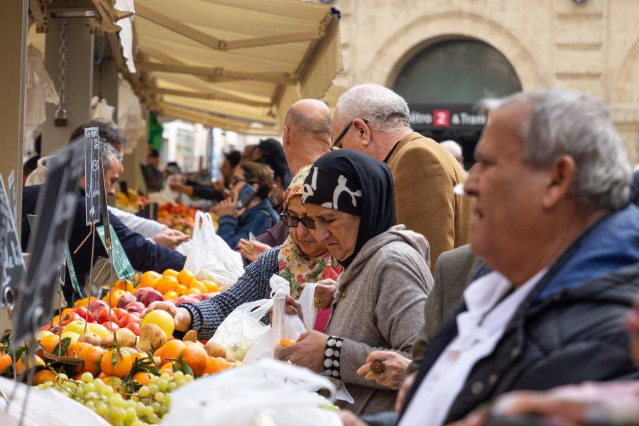 Marché de Noailles à Marseille