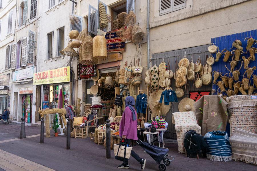 Quartier de Noailles à Marseille