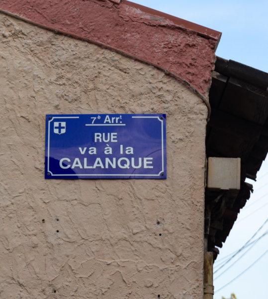 Rue Va à la calanque