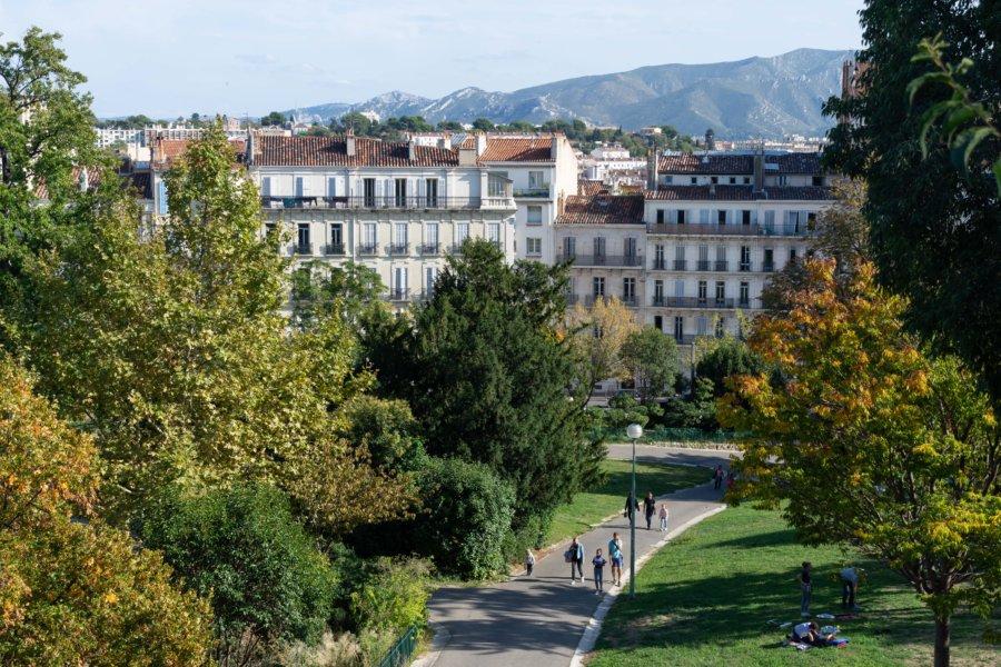 Parc Longchamp à Marseille