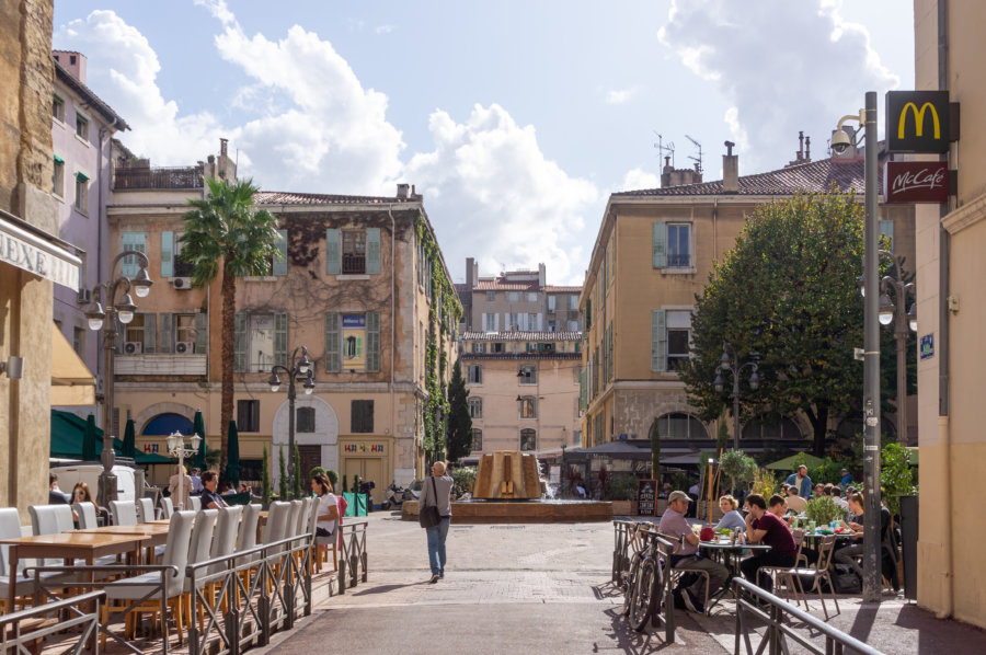 Place aux huiles à Marseille