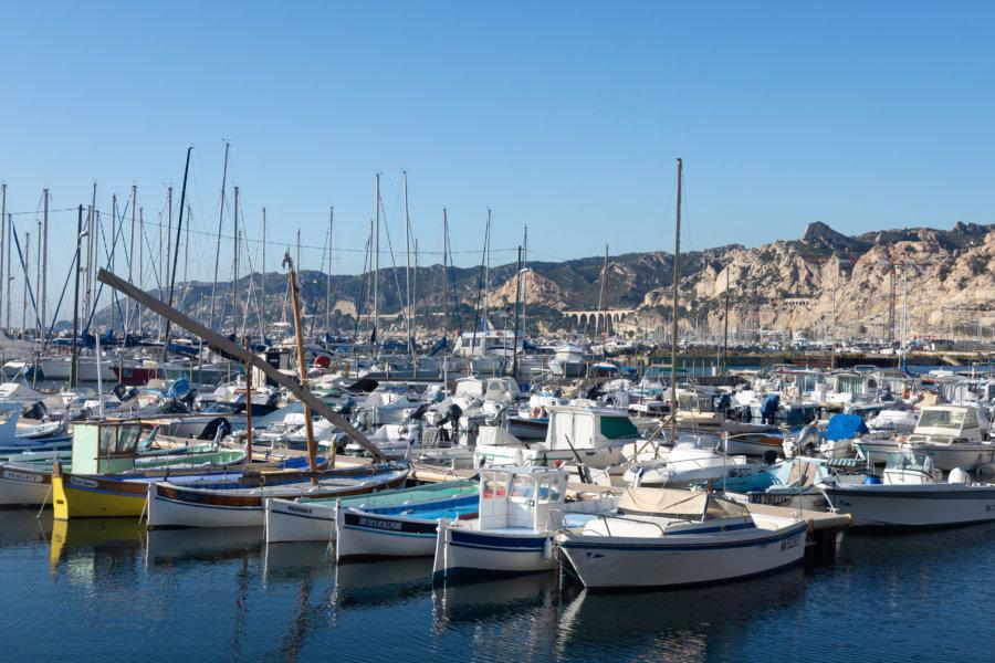 Port de l'Estaque à Marseille