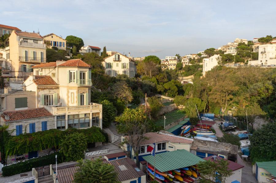 Quartier d'Endoume à Marseille