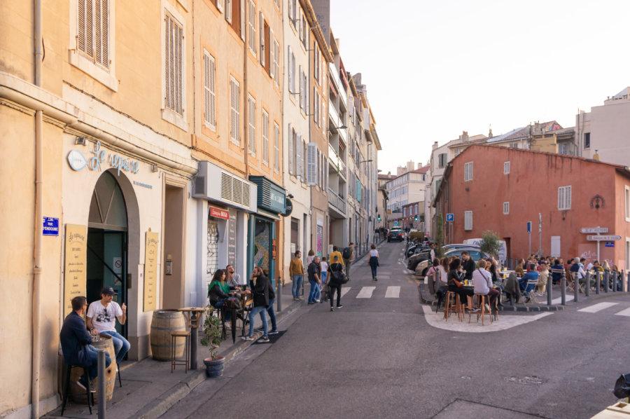 Quartier Saint-Victor à Marseille