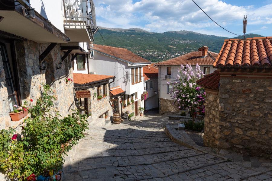 Petite rue calme à Ohrid