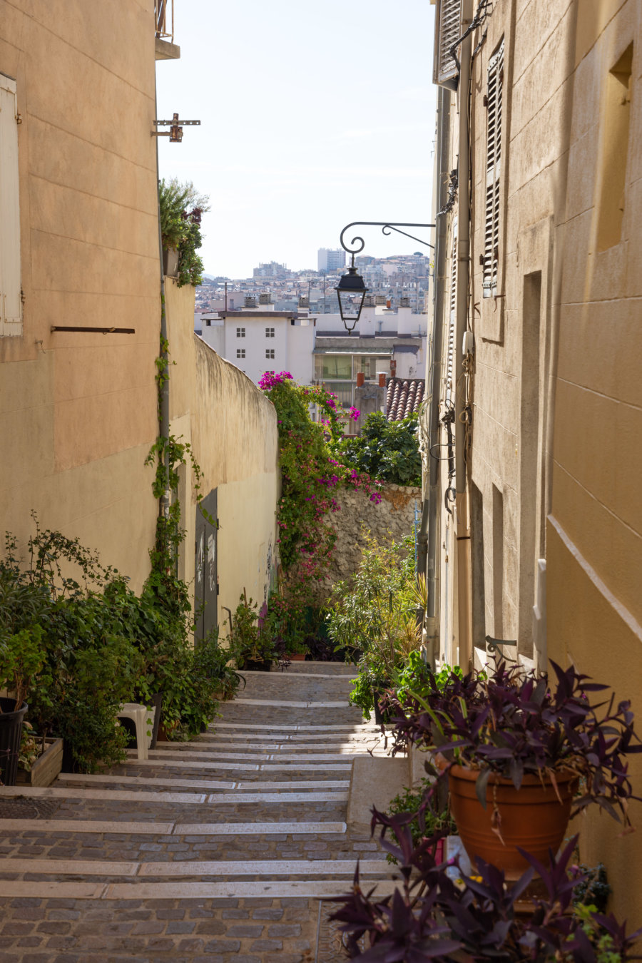 Ruelle du panier à Marseille