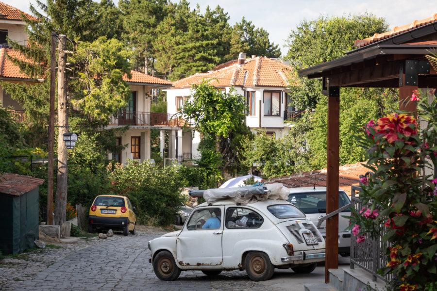 Rues perchées à Ohrid