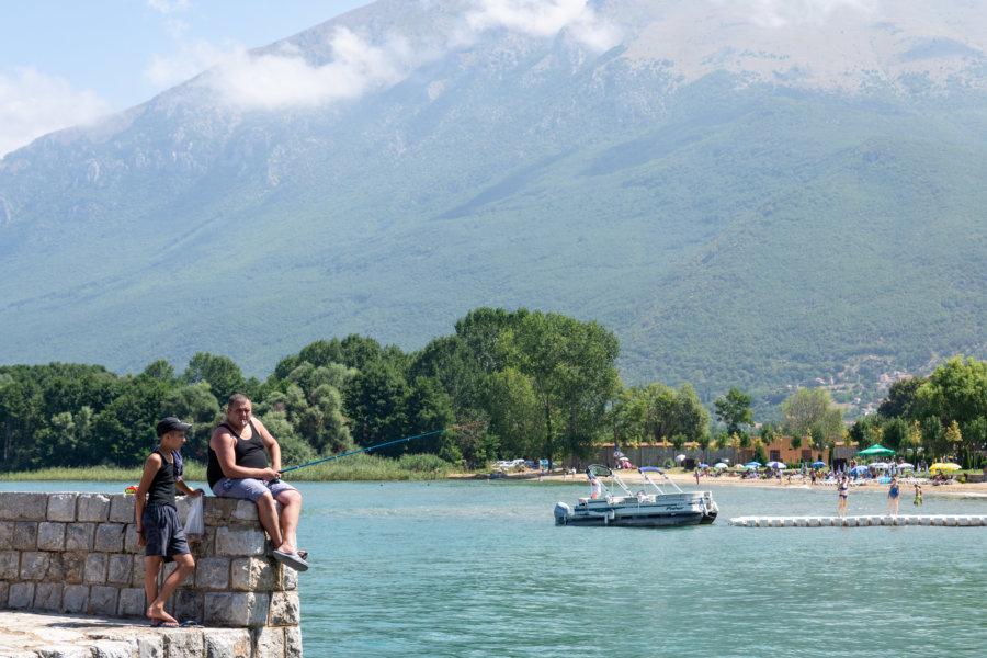 Saint-Naum en Macédoine du Nord