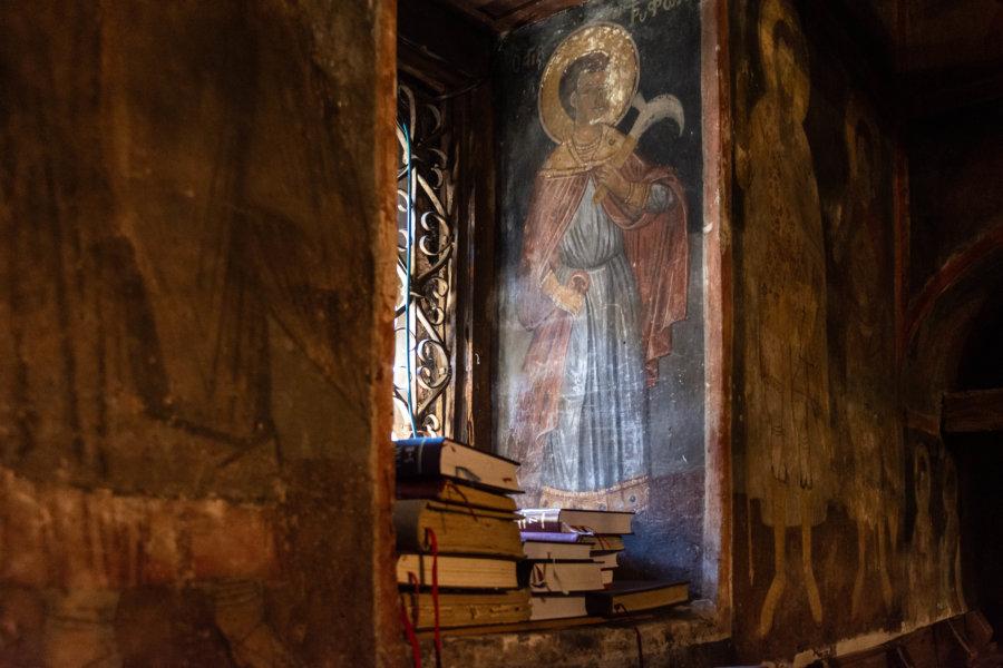 Intérieur du monastère de Saint-Naum