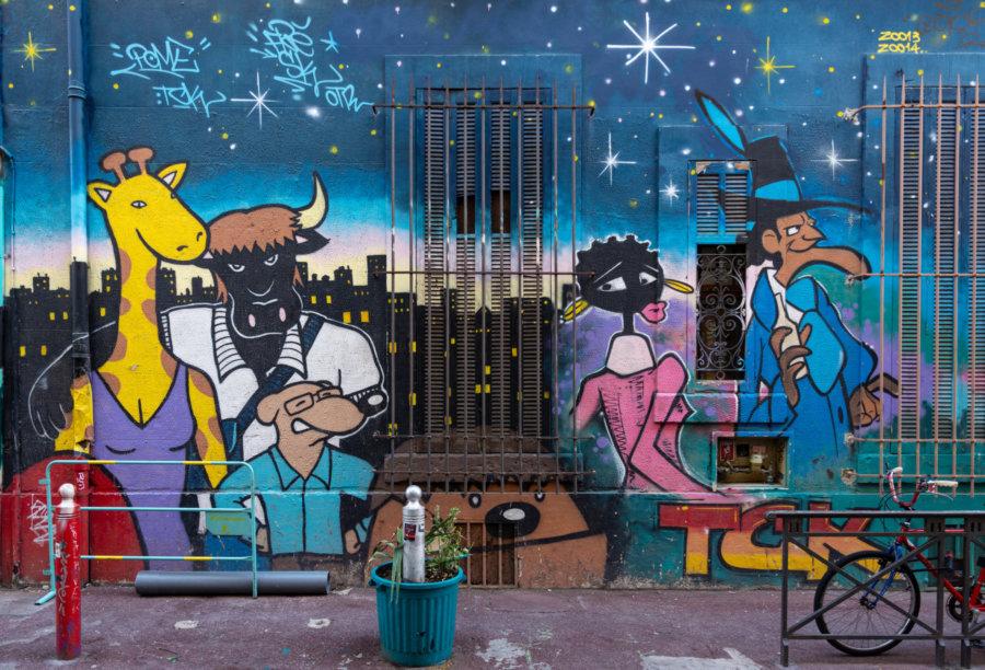 Street art à Marseille, Cours Julien