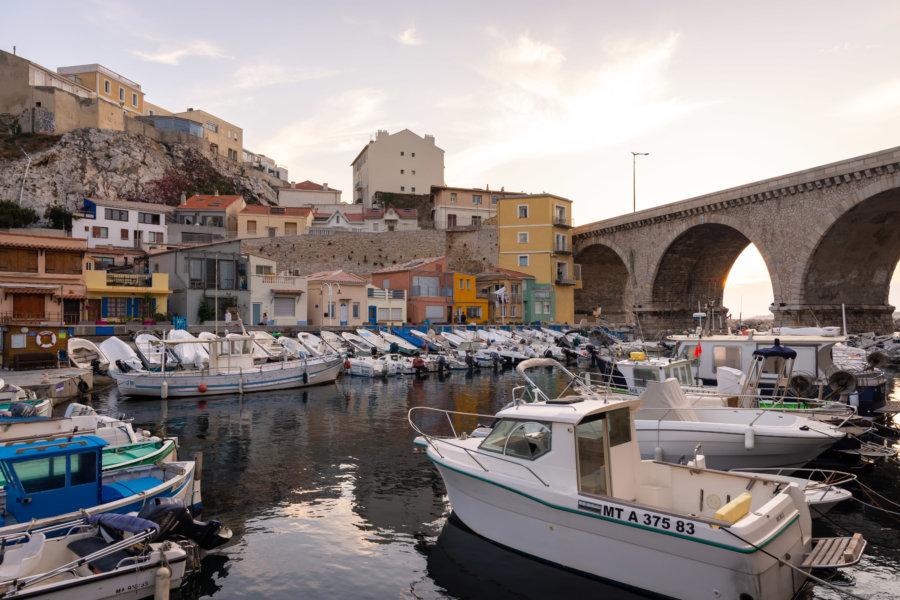 Vallon des Auffes à Marseille